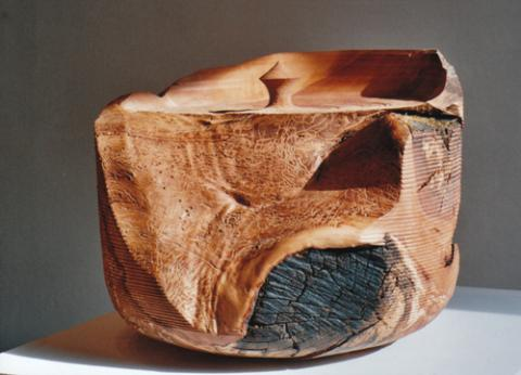 Objekt aus Apfelholz